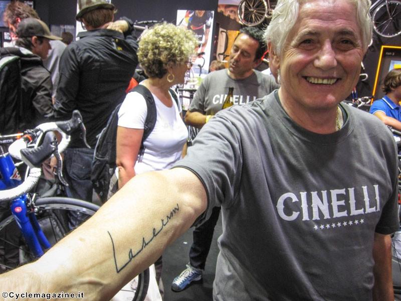 Laserman tattoo