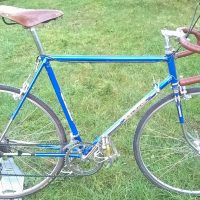 1950's Raleigh Record Ace 22½ inch